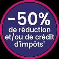réduction ou crédit impots